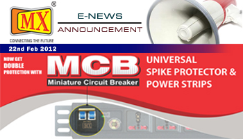 E_NEWS 22ND FEB 2012 - MCB SPIKE GUARDS