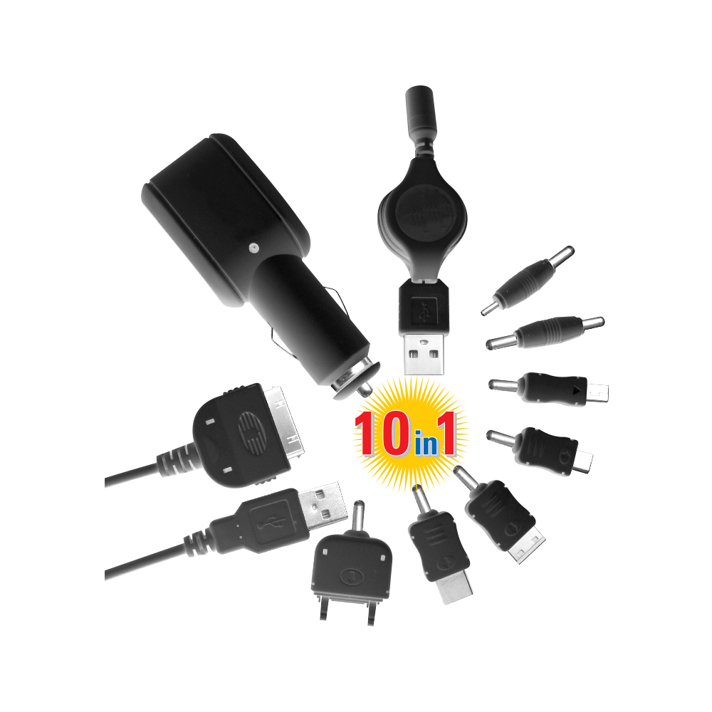 MX UNIVERSAL CAR CHARGER
