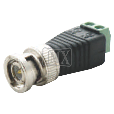 MX BNC MALE CONNECTOR (FOR 4+1 WIRE RT-4)